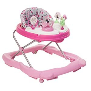 Disney Baby Minnie Mouse Music and Lights Baby Walker with Activity Tray